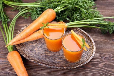 Новогодний морковный сок