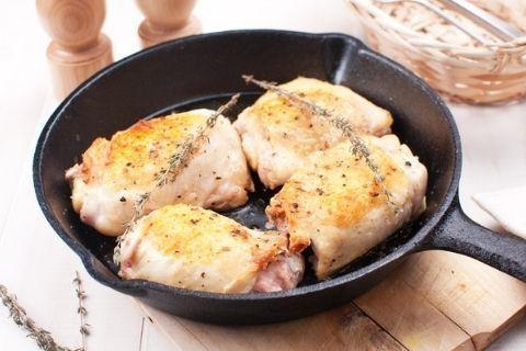 Куриные бедрышки су-вид в вустерском соусе
