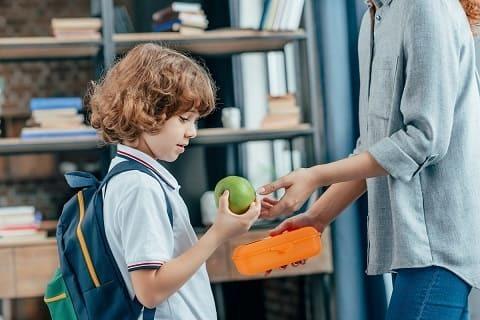 Ланч-бокс в школу: для детей с пищевой аллергией