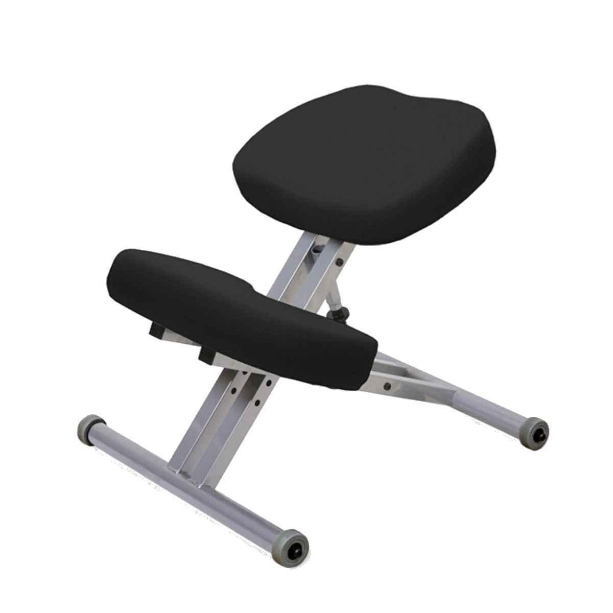 Стул коленный Smartstool KM01 без газлифта черный