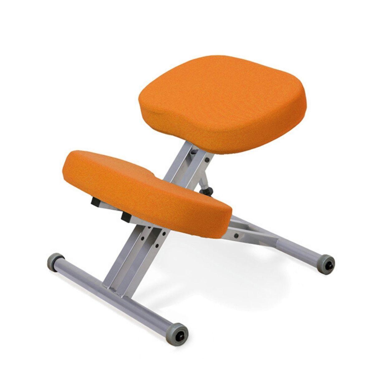 Стул коленный Smartstool KM01 без газлифта оранжевый