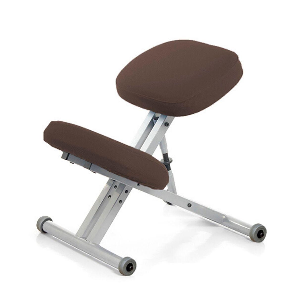 Стул коленный Smartstool KM01 без газлифта коричневый