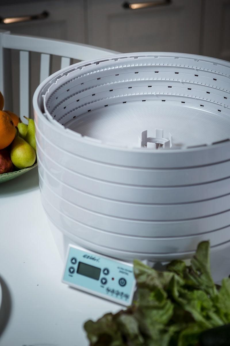 Дегидратор Ezidri Ultra FD1000 Digital, полые кольца для приготовления йогурта в дегидраторе