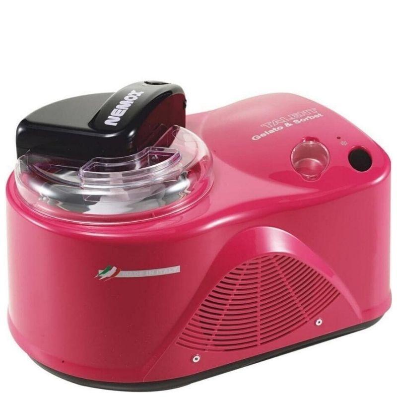 Мороженица Nemox Talent Gelato & Sorbet розовая 1,7 л (автоматическая)