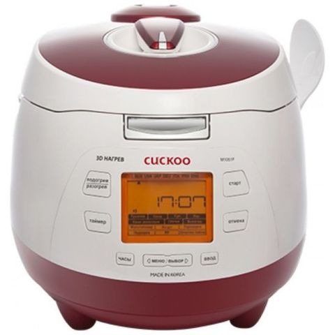 Мультиварка Cuckoo CMC-M1051F красная