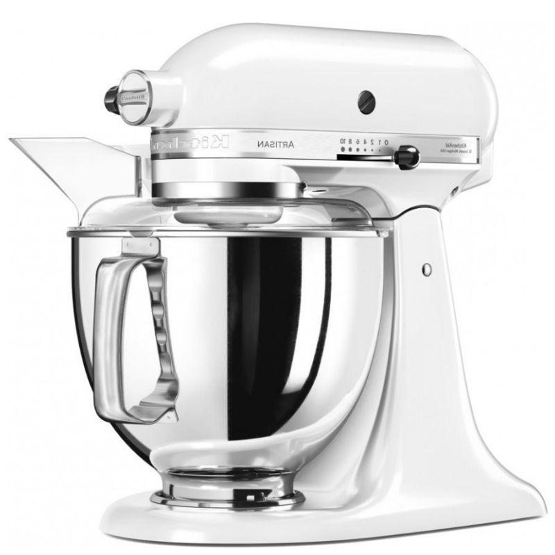 Миксер KitchenAid Artisan 5KSM175PSEWH 4,8 л белый (планетарный)