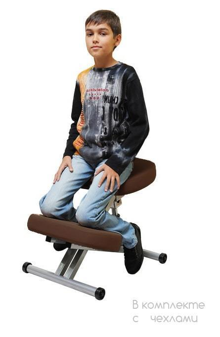 Коленный стул Smartstool KM01L в комплекте с чехлами