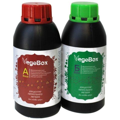 Питательный раствор VegeBox Base А+Б 500 мл