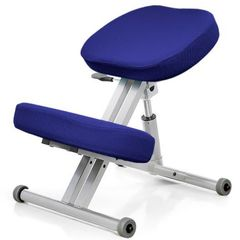 Стул коленный Smartstool KM01L с газлифтом индиго