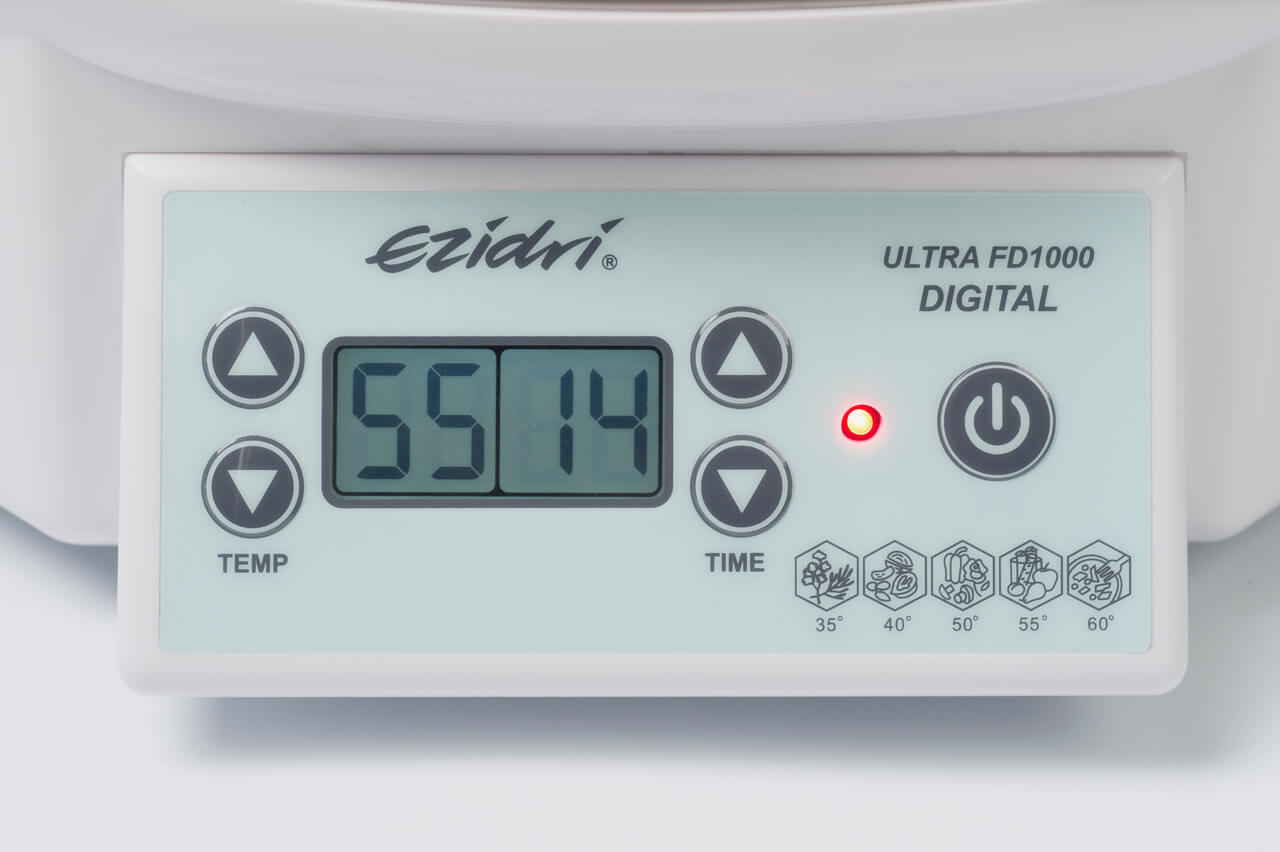 Дегидратор Ezidri Ultra FD1000 Digital, панель управления