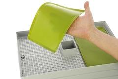 Силиконовая формочка для пастилы к дегидратору L'equip D-Cube салатовая