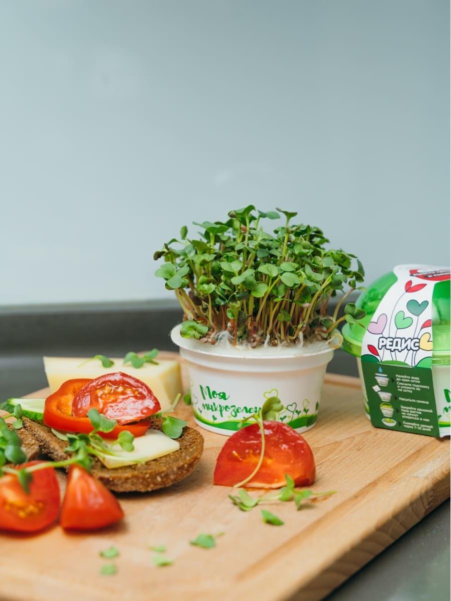 Набор для выращивания микрозелени Здоровья Клад