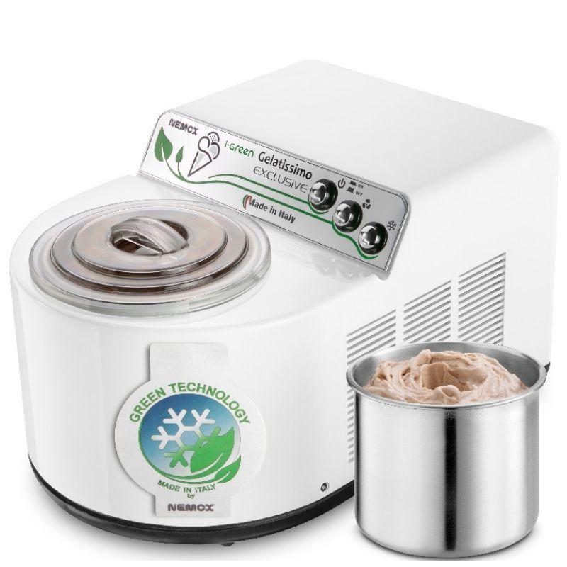 Мороженица Nemox I-Green Gelatissimo Exclusive White белая 1,7 л (автоматическая)