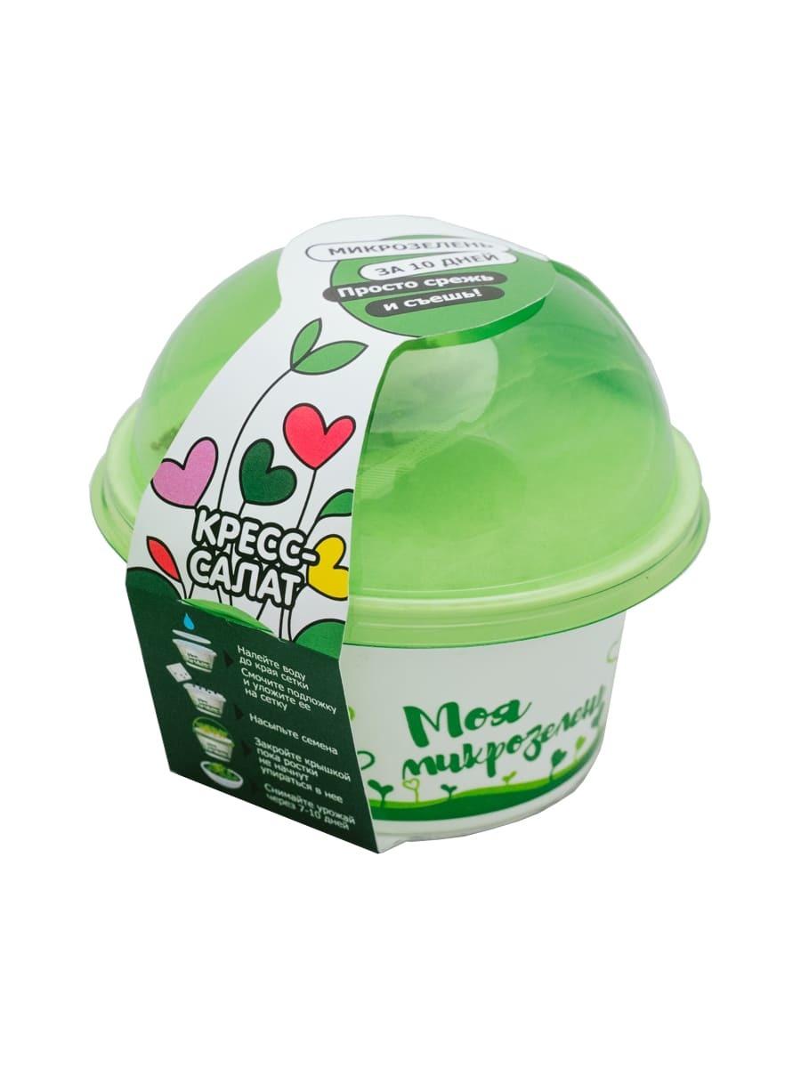Моя микрозелень кресс-салат