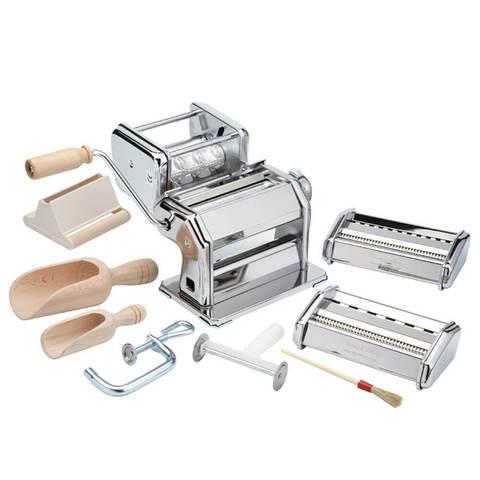 Набор для приготовления лапши и равиоли Imperia (La Monferrina) La Fabbrica Della Pasta 501 серебристый