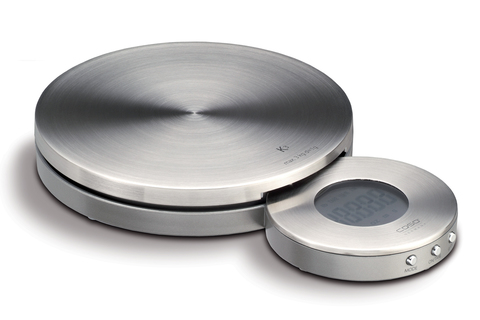 Весы кухонные CASO K3 серебристые