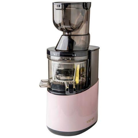 Шнековая соковыжималка King Mix GP-40S розовая пастель