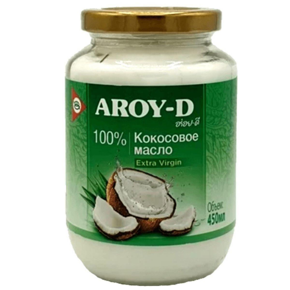 Кокосовое масло Aroy-D 450 мл