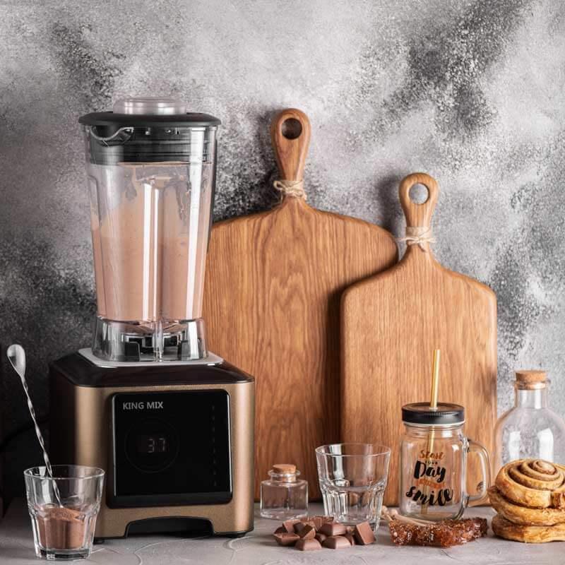 Блендер King Mix KM-A7 шоколадный