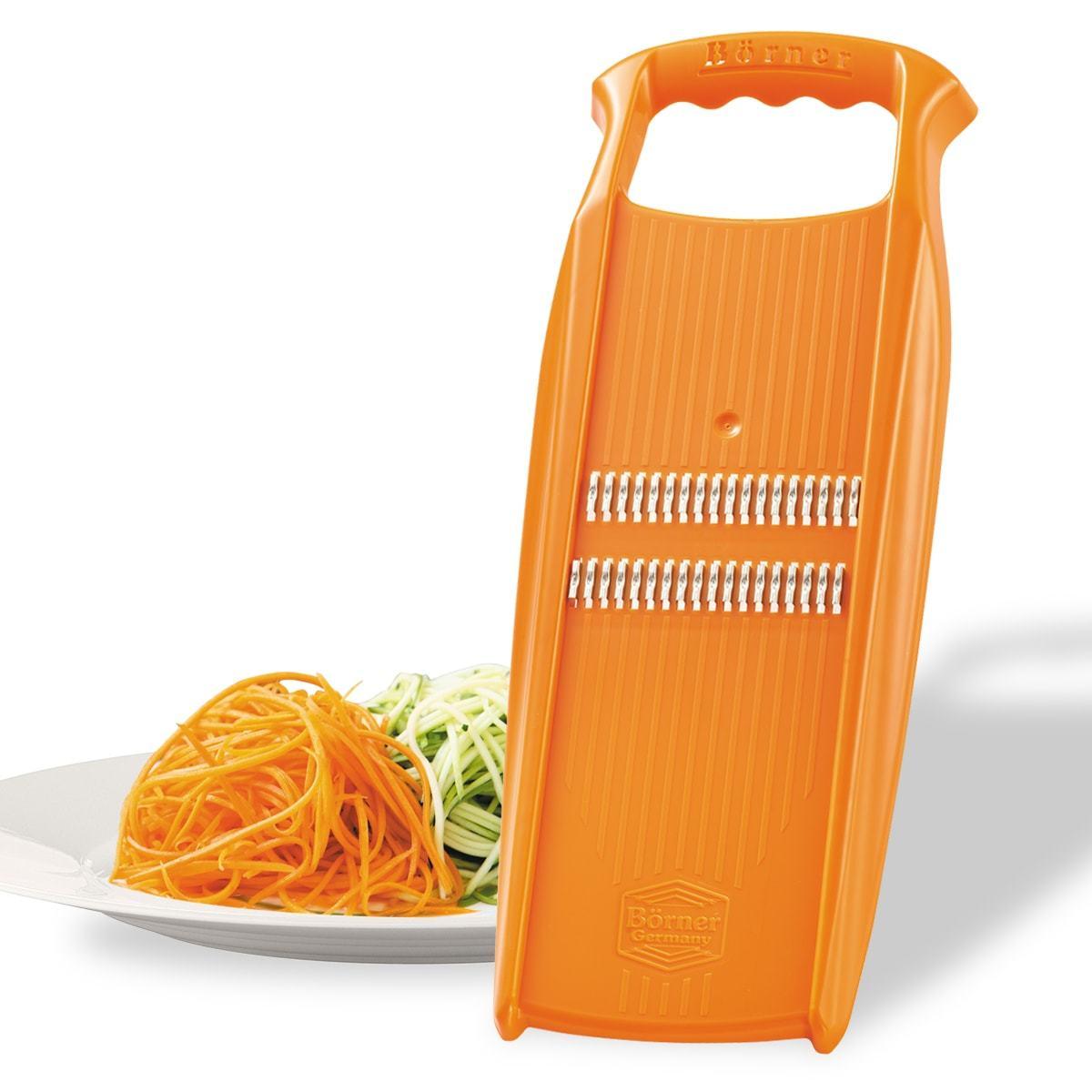 Терка Borner для корейской моркови оранжевая