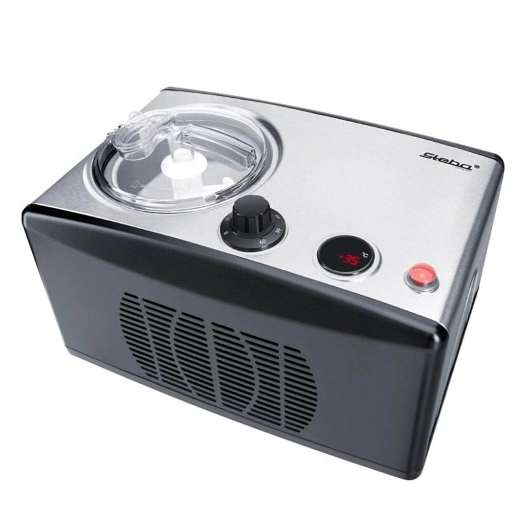 Автоматическая мороженица Steba IC 150 1,5 л серебристая