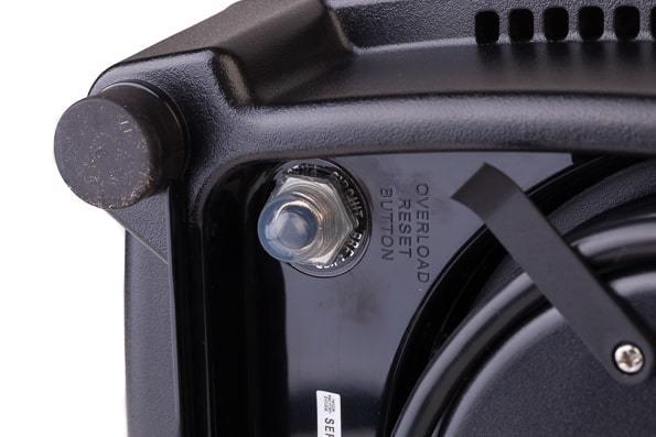 Кнопка перезагрузки в случае остановки блендера