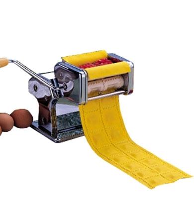 Тестораскатывающая машина Gastrorag QF-150+QJ (насадка для равиоли) серебристая