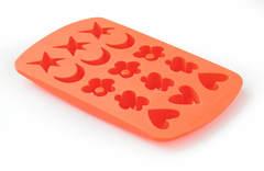 Форма для шоколадных и мармеладных конфет Lekue оранжевая