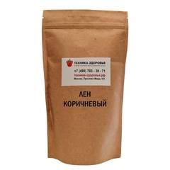 Лен коричневый для проращивания Чистый Продукт 450 г