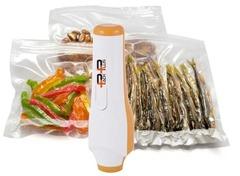 Ручной вакуумный упаковщик Pack Plus HVP-1004 бело-оранжевый