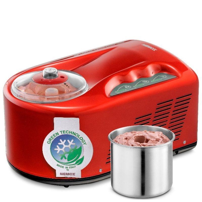 Мороженица Nemox I-Green Gelato Pro 1700 UP Red красная 1,7 л (автоматическая)