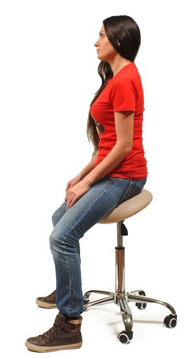 Вертикальная посадка на стуле Smartstool S01