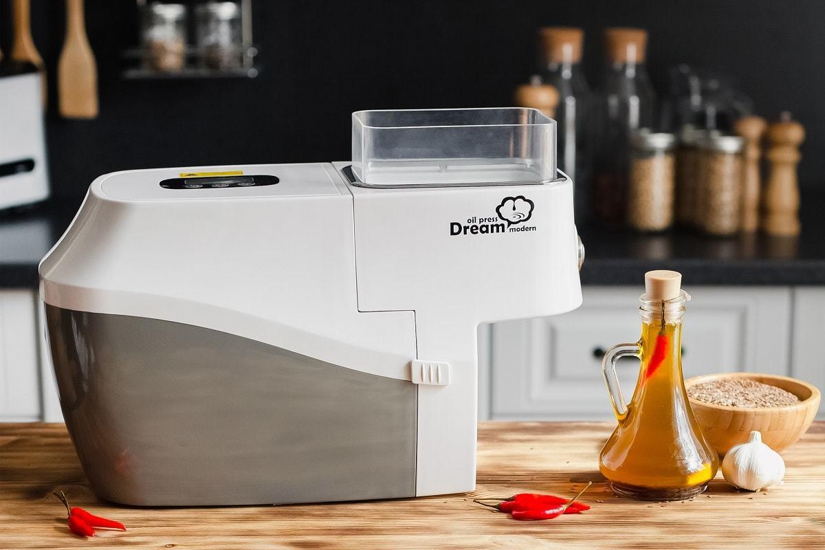 Электрический маслопресс RawMiD Dream Modern ODM-01 для получения масла холодного и горячего отжима