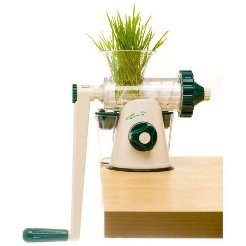 Шнековая соковыжималка Lexen Healthy Juicer Manual GP27 белая (ручная)