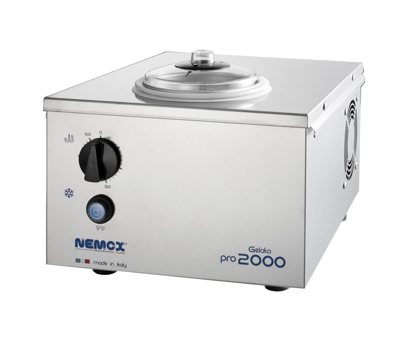 Профессиональный фризер для мороженого Nemox Gelato Pro 2000 серебристый
