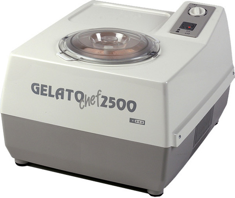 Фризер (автоматическая мороженица) Nemox Gelato Chef 2500 Plus 2.5L серая