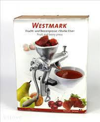 Шнековая ручная соковыжималка Westmark Starke Else