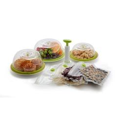 Ручной вакуумный упаковщик Say Fresh Gwell SF-1100 бело-салатовый