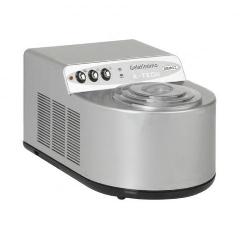 Автоматическая мороженица Nemox Gelatissimo K-Tech 1.7L серебристая