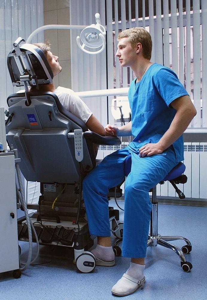 Стул-седло Smartstool SM02 для стоматологии