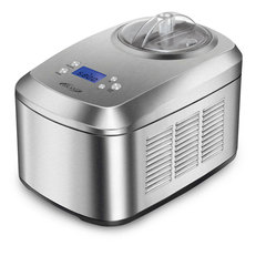 Автоматическая мороженица Brand 3813 (2 л.) серебристая