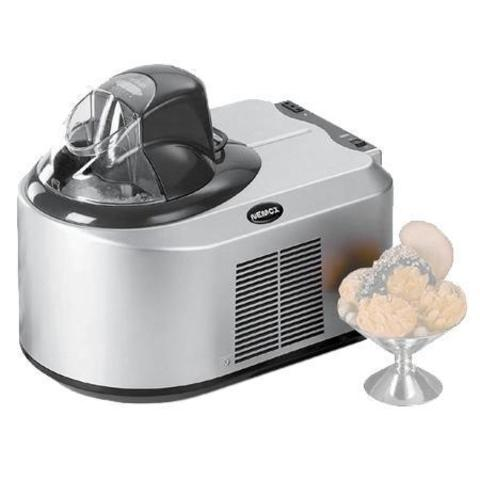 Автоматическая мороженица Nemox Oxiria Mat Chrome 1.5Lсеребристая