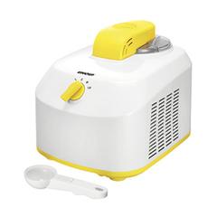 Автоматическая мороженица с компрессором Unold Fiesta 1L желтая