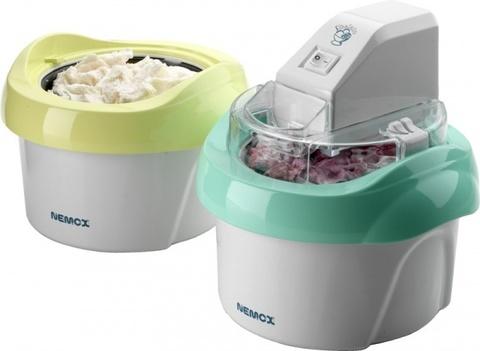 Мороженица Nemox Gelato Duo Mio 1.1L белая
