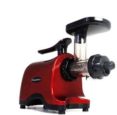 Двухшнековая соковыжималка Omega Twin Gear Juicer TWN32R, красная