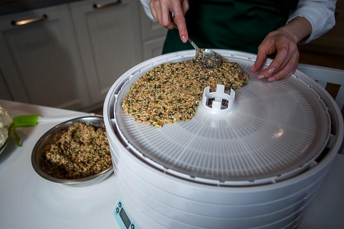Дегидратор Ezidri Ultra FD1000 Digital, приготовление хлебцев в дегидраторе