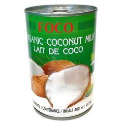 Кокосовое молоко Foco 10-12% органическое 400 мл