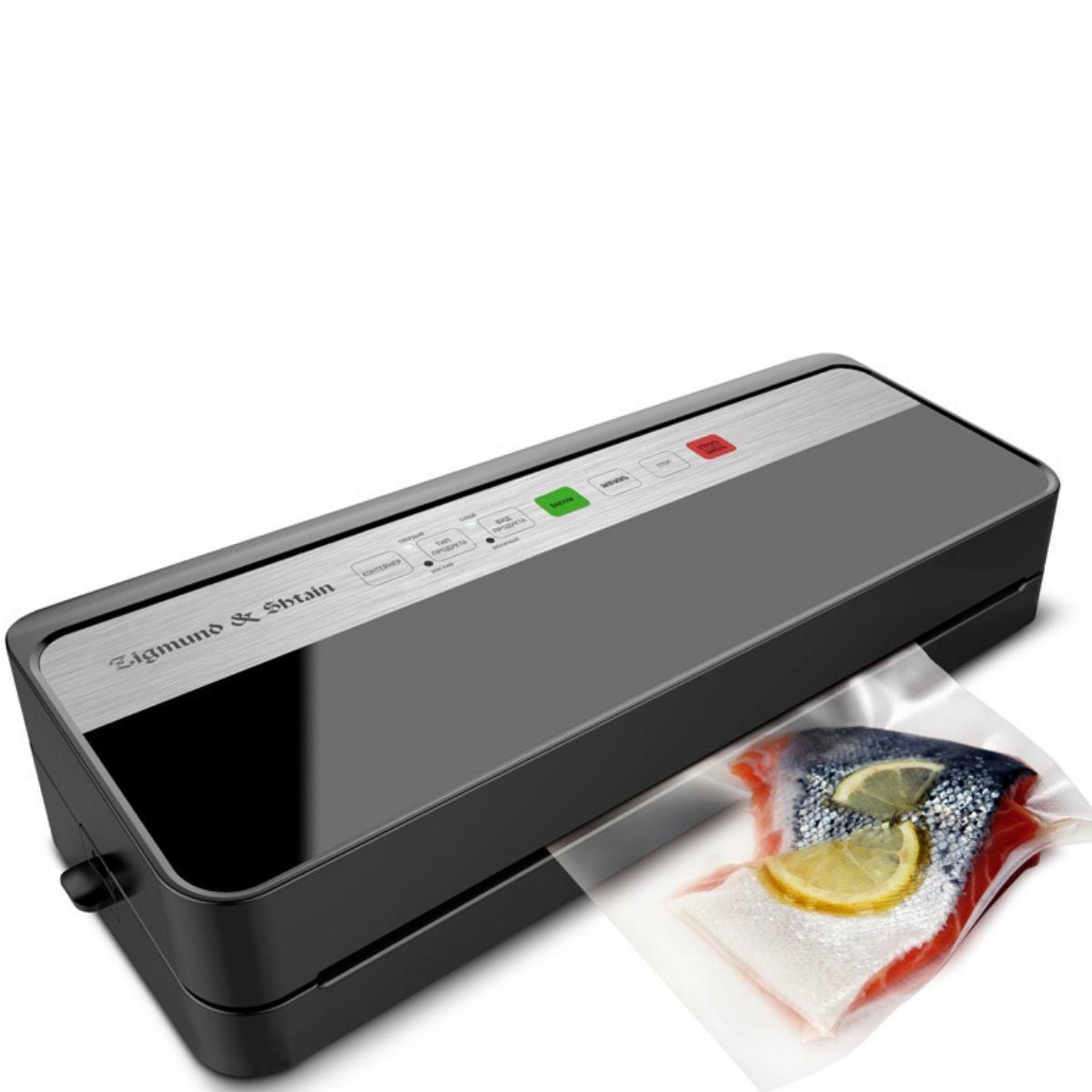 Вакуумный упаковщик Zigmund & Shtain Kuchen-Profi VS-501 (упаковывает жидкое)