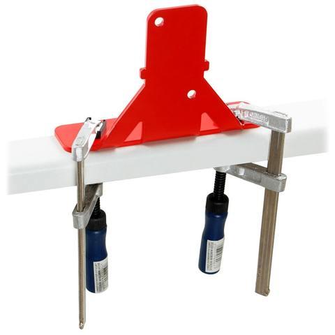 Набор для быстрого крепления маслопресса Piteba к столу P5221K красный