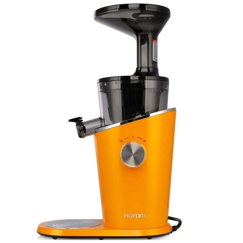 Шнековая cоковыжималка Hurom H-100 оранжевая (4 поколение)